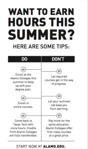 Alamo Colleges Summer Enrollment