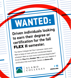 Alamo Colleges Wanted